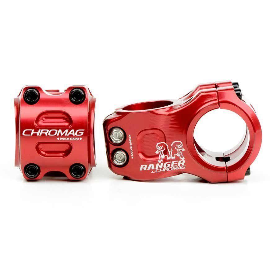 Chromag Chromag Chromag Ranger V2 Stem 1-1 8'' L  31mm 0 Dia  31.8mm rosso 8a9880