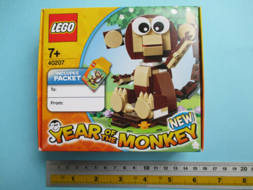 New Free Shipping LEGO 40207 Year of the Monkey New Year Limited 2016 With Track