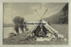 Details about tp3605 - Camping Party , Hart's Wood c1900 - reproduction  postcard