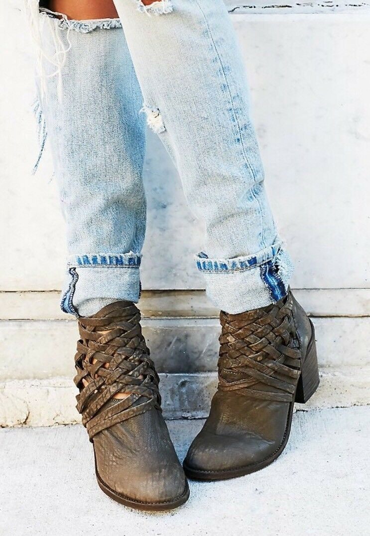 Free People Carrera Heel Boot
