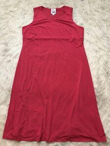 NWOT Very Vollbrach QVC Pink Sleeveless Dress Womens Plus ...