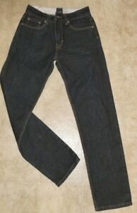Goodale-Dark-Wash-Selvage-The-Tailored-Slim-Cotton-Jeans-says-30-32-28-x-30