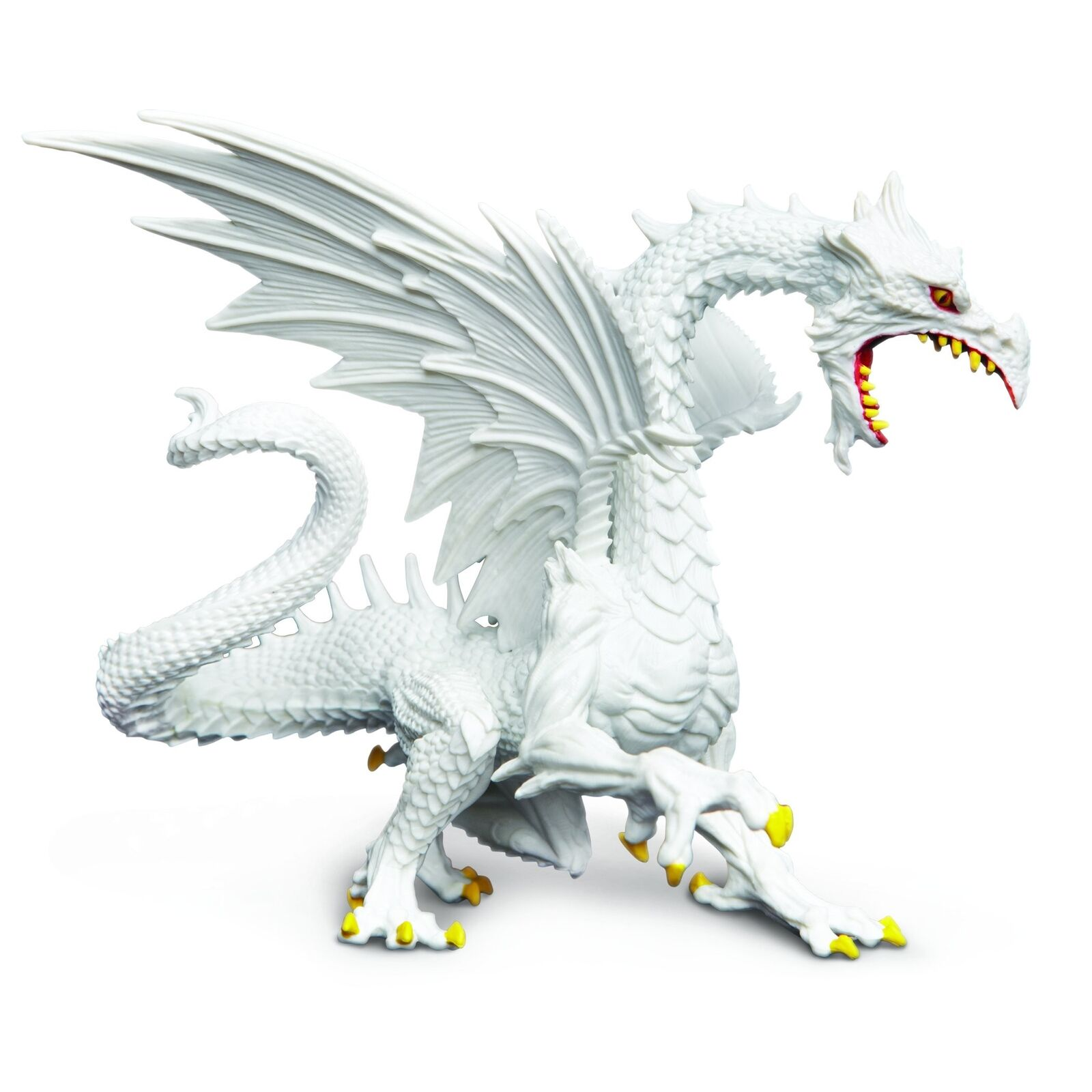 Glow-In-The-Dark Snow Dragon Fluoreszierender Schneedrache 10120 Snow Dragon