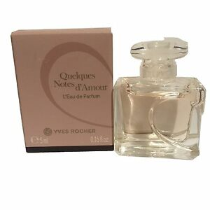 For Yves Women Mini 5ml Perfume Quelques Notes Details Rocher Miniature About Edp D'amour 3jc4Aq5RSL