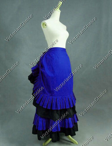 Victorian Costumes: Dresses, Saloon Girls, Southern Belle, Witch    Gothic Victorian Edwardian Maiden Bustle Skirt Theatre Steampunk Clothing N K034 $115.00 AT vintagedancer.com