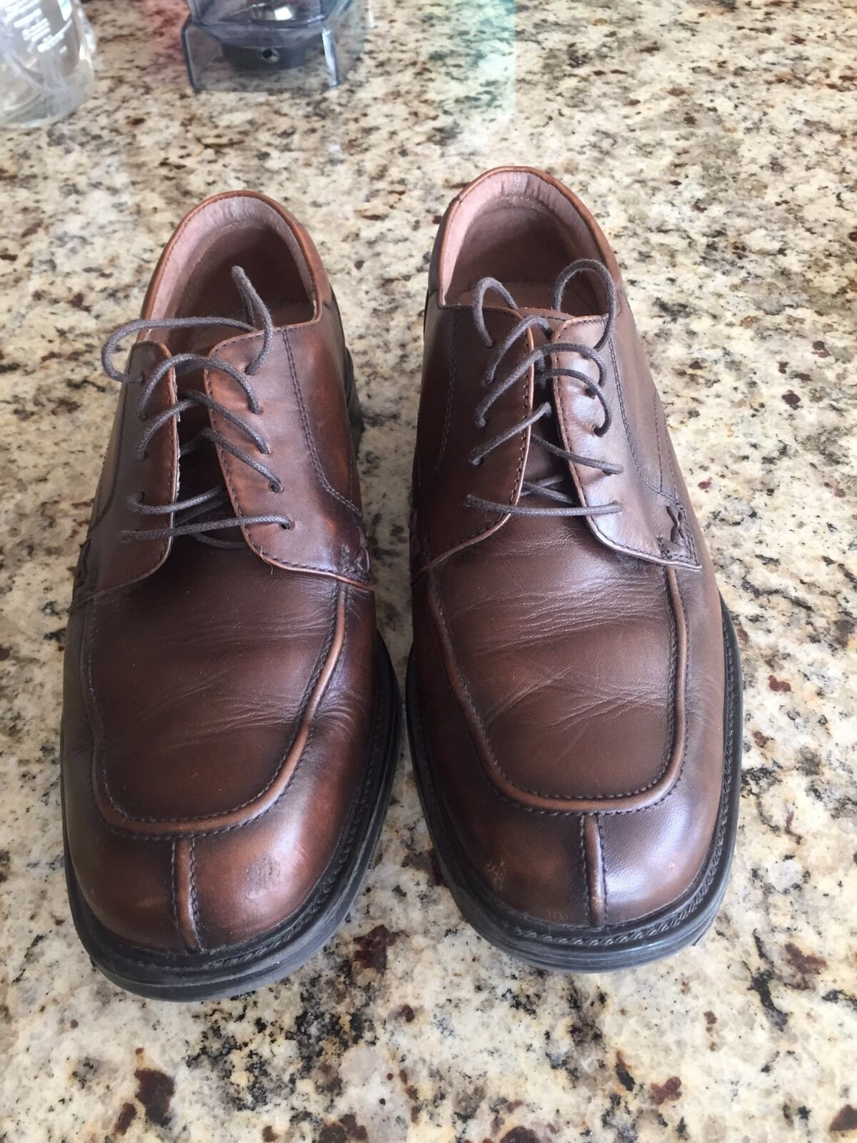 Man's/Woman's Bostonian Leather Dress Shoes - Online Brown Economical and practical Online - export store Speed refund f07738