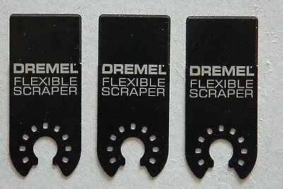 3 NEW DREMEL MULTI MAX MM610 FLEXIBLE SCRAPER BLADES