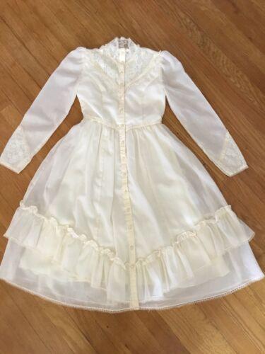 Vintage Gunne Sax Ivory Dress