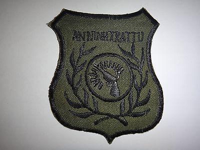 "ARVN Police ""AN NINH - TRAT TU"" (Security - Order) Vietnam War Subdued Patch"