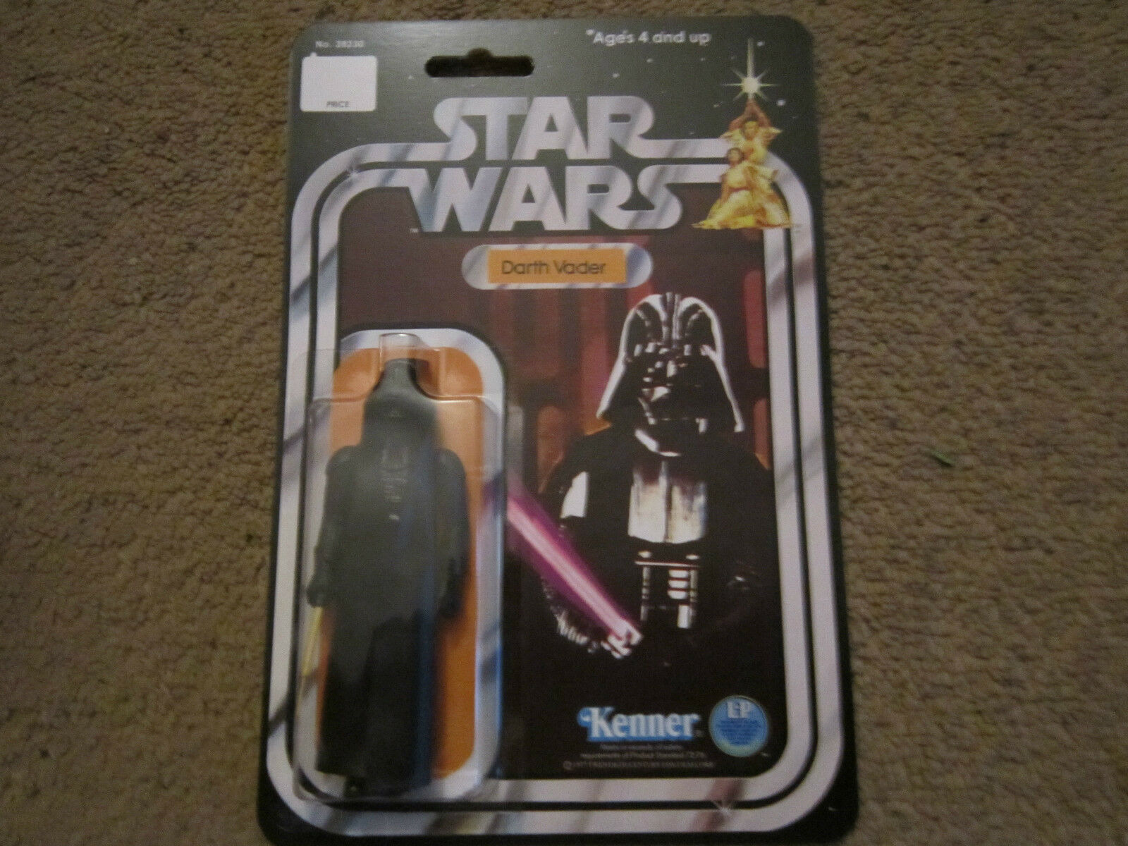 VINTAGE STAR WARS DARTH VADER su 12 Retro RECARD