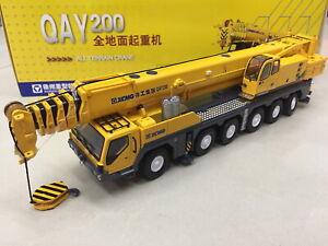 1-50-XCMG-qay200t-Mobile-heavy-Crane-metal-DIECAST-Truck-Toy-Model-Collection