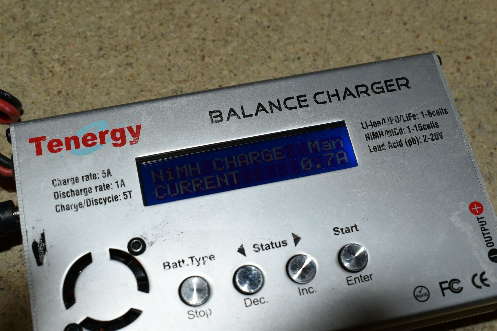 ^^ TENERGY BALANCE CHARGER