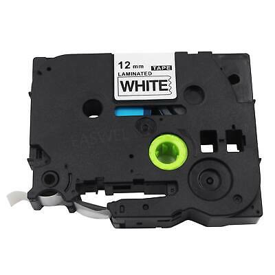 Brother P-Touch TZe-231 BLACK ON WHITE Label Tape TZe231 Ptouch PT-1880 PT OEM
