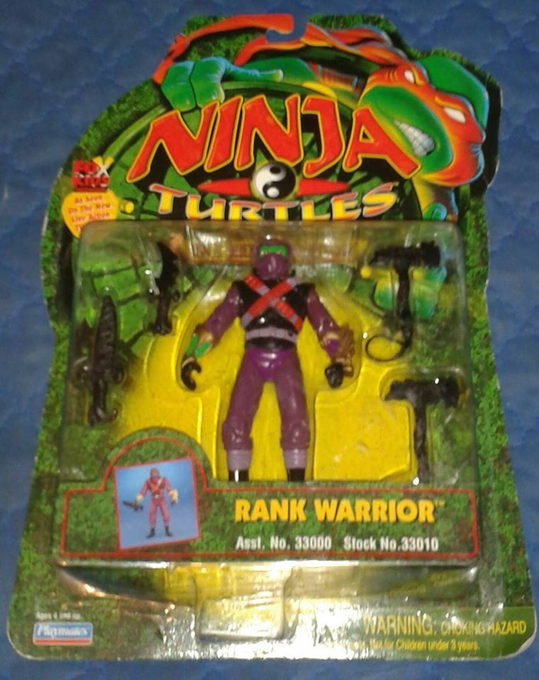 1997 NEXT MUTATION  RANK WARRIOR  MOC TEENAGE MUTANT NINJA TURTLES TMNT