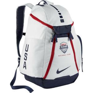 Nike-Elite-Backpack-Bag-White-Navy-Red-Max-Air