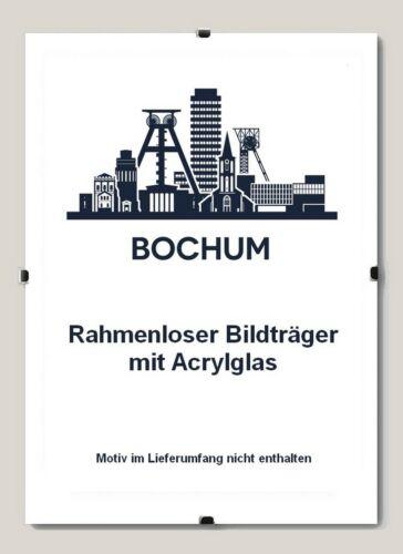 Rahmenloser Bildträger Bochum von 68 x 68 bis 68 x 120 cm