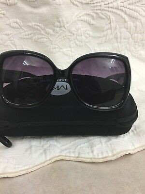 f157f1d82f6d Details about Michael Kors Women's Gradient Black Butterfly Sunglasses, new  with Tags and Box