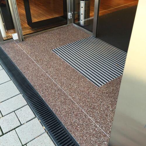 Steinteppich 2K-Bindemittel für Bad Büro Wohnbereich RIESEN AUSWAHL ALLE Farben