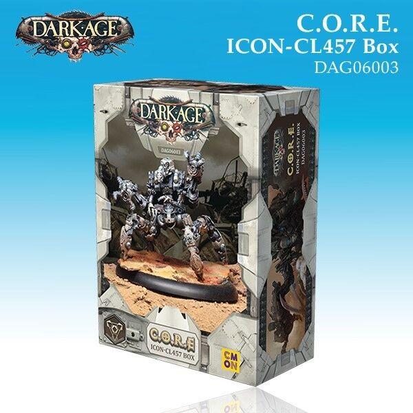 Dark Age Core Icon-CL457 box miniature 32mm new