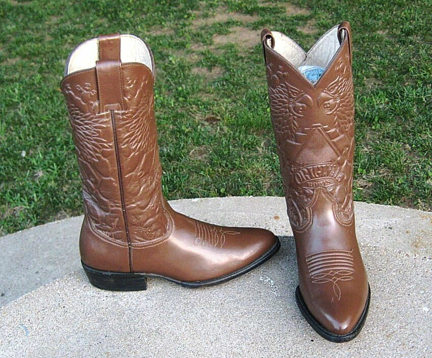 NEW   PASTIZAL DESIGNER COWGIRL stivali  LADIES  6.5'M