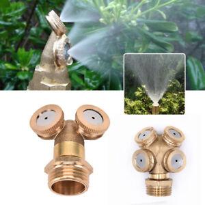 Ugello-Nebulizzazione-Spray-Ottone-Tubo-Connettore-Spruzzatore-Per-Irrigazione