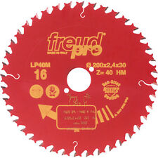 NEW LP40M TCT Saw Blade for Cross Grain Cutting 250 x 30mm x 60T Each