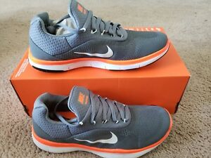d2f7171423eb NIKE FREE TRAINER V7 Mens 898053 001 COOL GREY FITNESS SHOES Size 6 ...