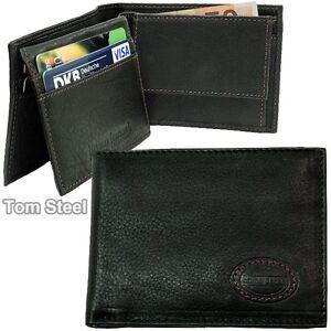 BRUNO-BANANI-kleines-Herren-Portemonnaie-Brieftasche-Geldbeutel-Geldboerse