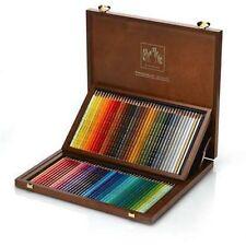 Caran D'ache Prismalo Watercolour Pencil 80 Colour Wooden Box