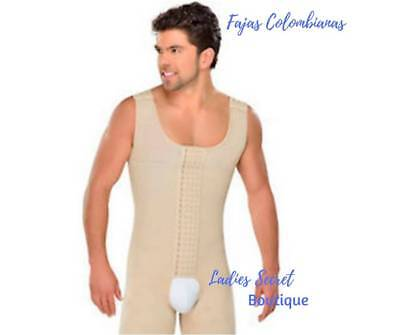 Colombianas Para Hombre Mens Full Body Shaper sold by Just Us Store