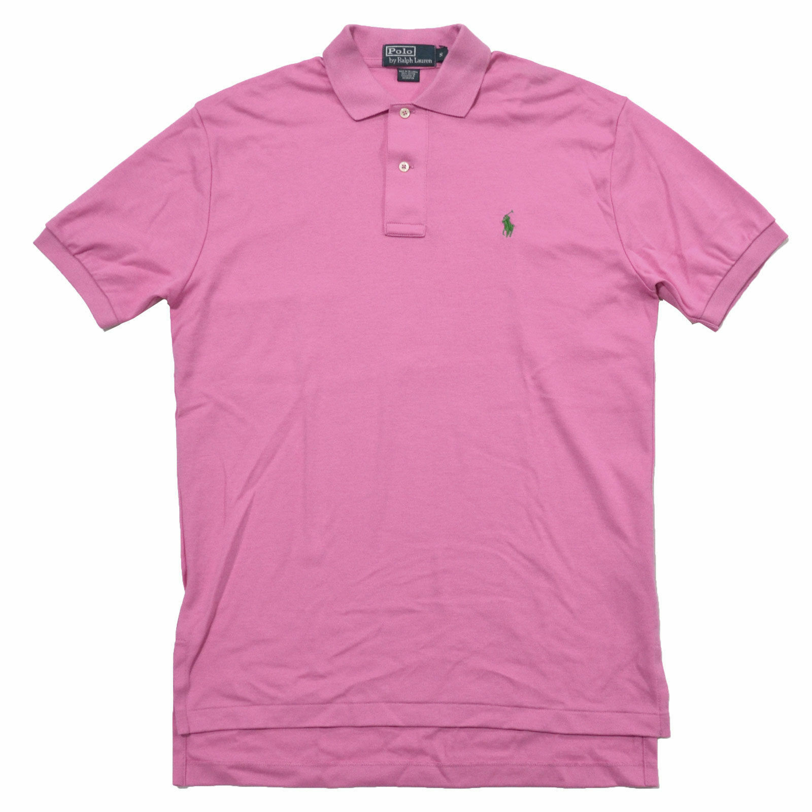 97deea04982c RALPH LAUREN POLO THE MESH S S CLASSIC FIT SHIRT PINK X-LARGE XL NEW ...
