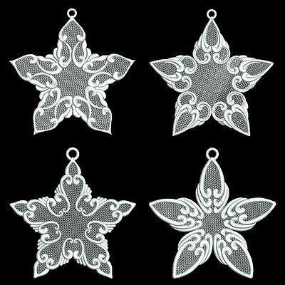FSL STARS OF LIGHT - 12 MACHINE EMBROIDERY DESIGNS 6 x 10 HOOP (AZEB)
