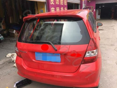 Factory Style Trunk Spoiler Wing for 03-07 Honda Fit Jazz Unpainted Light ABS