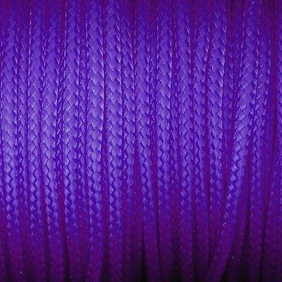 knot*knot Paracord Garn für Paracord-Technik - Ø 2 mm - violett - 4 Meter