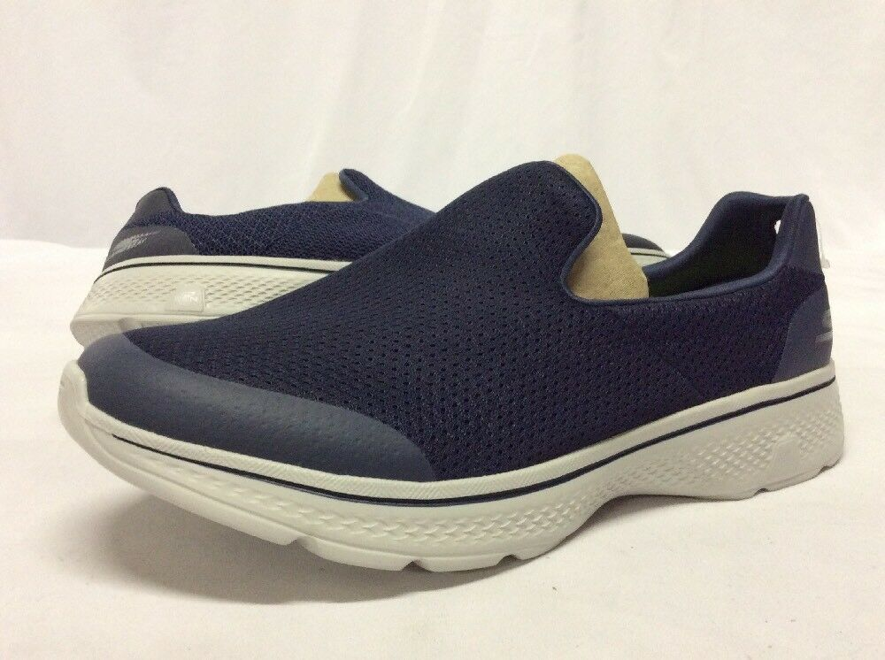 SKECHERS GOGA MAX Athletics shoes Men's, Navy Size 9 ...S35