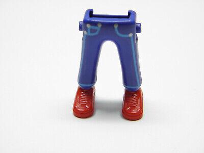 Playmobil Fireman Police Legs Piernas Jambes Pompier Secours Police PF1050