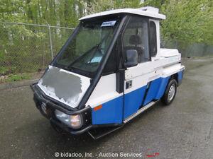 2007-Westward-Industries-Go-4-3-Wheel-Police-Interceptor-Scooter-Heat-Cab-4-Spd