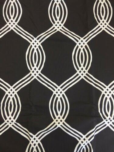 New  Pottery barn Teen Infinity stripe Queen duvet cover Only Black White