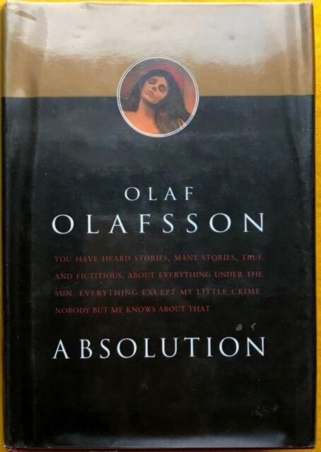 Absolution by Olaf Olafsson FREE AUS POST ex-library hardcover with dust jacket