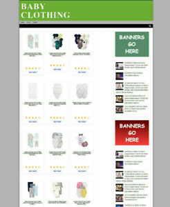 BABY-CLOTHES-UK-AFFILIATE-WEBSITE-WITH-HOSTING-amp-FREE-DOMAIN-FULLY-STOCKED