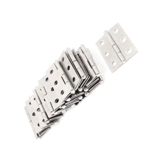 20pcs Stainless Steel Flush Hinges Cabinet//Cupboard Self Close Door Hinges