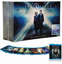 The X-Files Complete Series Collection Season 1-10 Blu-Ray Gift Box Set 57 Disc