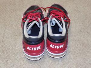 aac0e8cf1 Image is loading Jose-Altuve-Game-Worn-Nike-Cleats-2015-Houston-