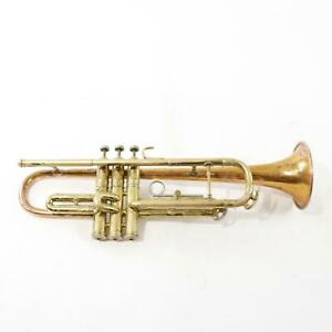 C-G-Conn-Model-12B-Professional-Bb-Trumpet-with-Coprion-Bell-GREAT-PLAYER