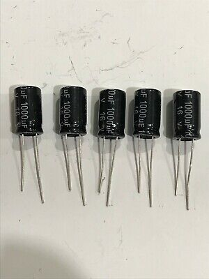 1000UF 35V 105C ELECTROLYTIC CAPACITORS PACK OF 5