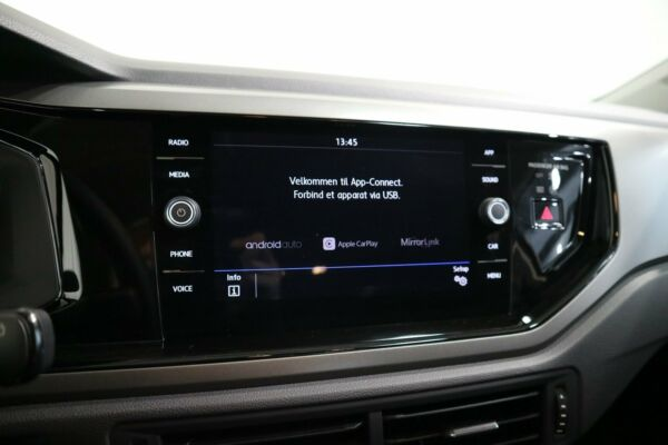 VW Polo 1,0 TSi 95 Comfortline DSG billede 9