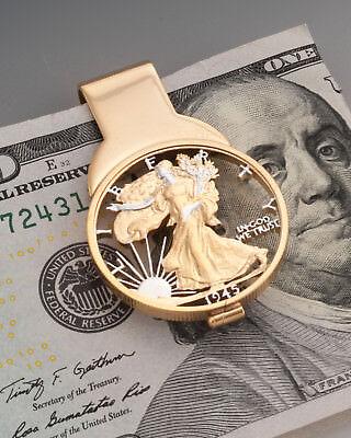 United States Half Dollar Money Clip, # 320UM American Eagle Money Clip