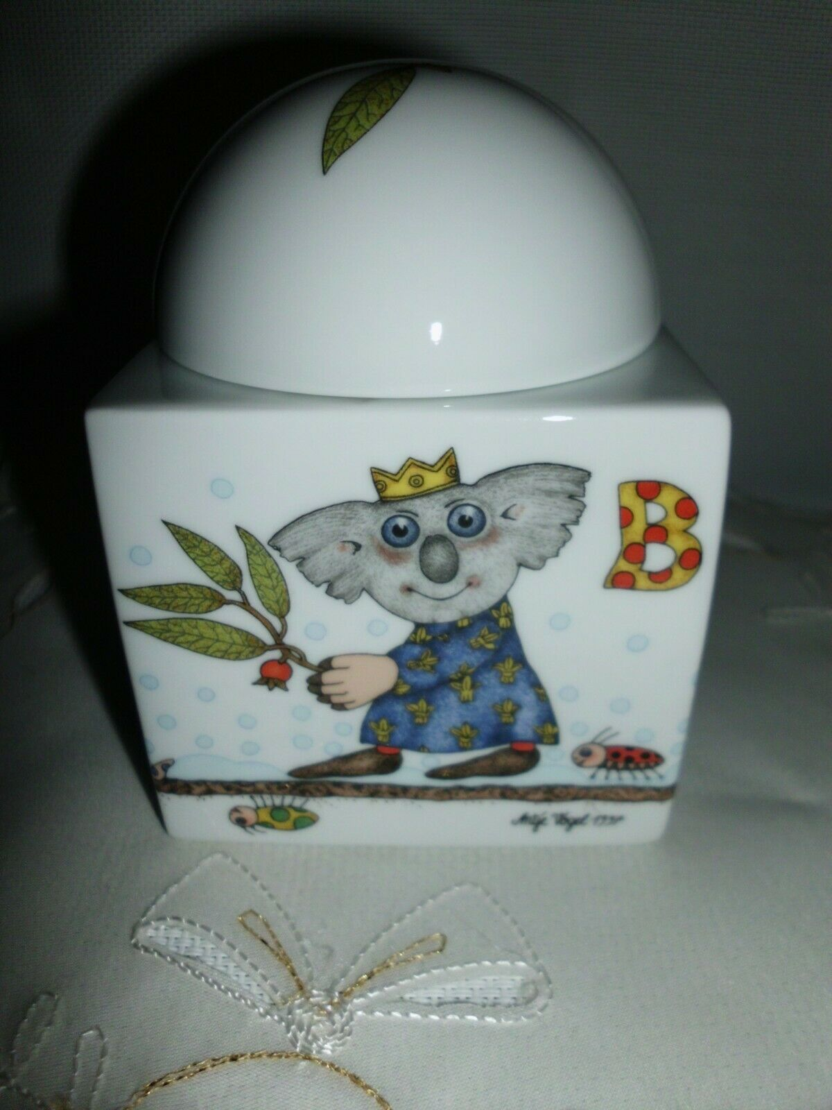 Arzberg Weihnachten im Koala Klub 1 Bonboniere - Dose   Heilige 3 Könige  neu