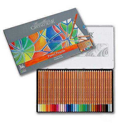 Cretacolor Fine Art Pastel Pencils - 36 Colour Tin | eBay