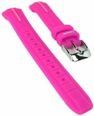Calypso Bracelet de Rechange Bleu Montre PLASTIQUE Bande Boucle Pin K6068//4